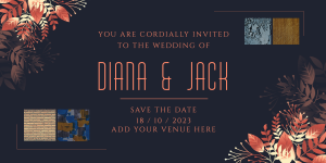 How to Add Text and Backgrounds to Invitation Cards?
