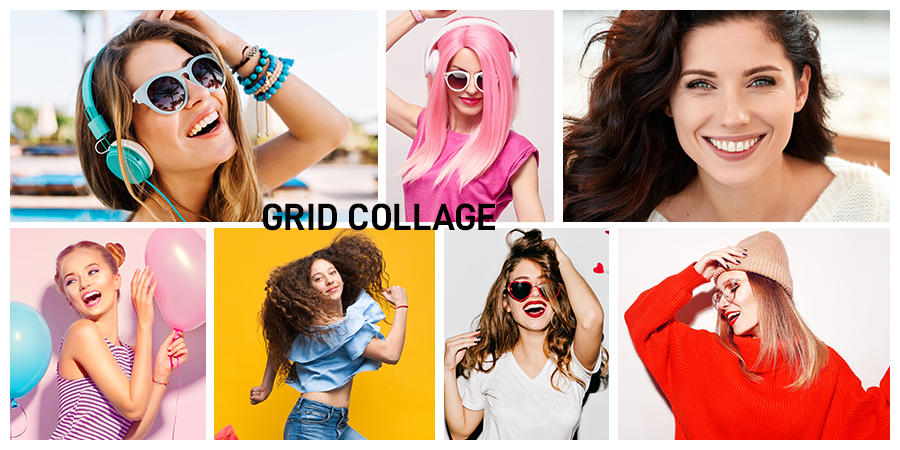 How to Create Grids in Collages?